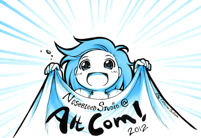 Nosebleed Studio at AltCom 2012!