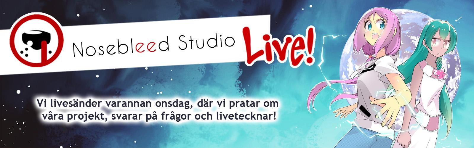 Nosebleed Studio Live!
